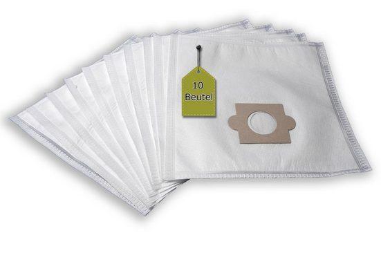 eVendix Staubsaugerbeutel Staubsaugerbeutel kompatibel mit Kalorik 5710 - 5712, 10 Staubbeutel, kompatibel mit SWIRL AK86/AK88, passend für Kalorik