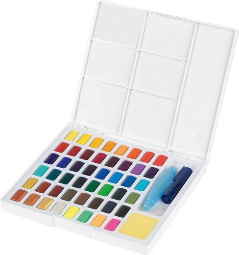 Faber-Castell Malpalette »Aquarellfarben, 48 Farben«