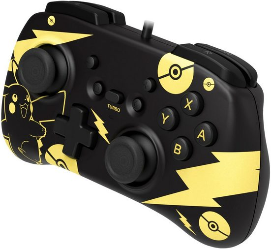 Hori »Switch Mini Controller - Pikachu Black & Gold Edition« Controller