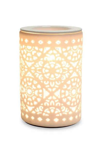 Levandeo® Duftlampe, Elektrische Duftlampe Tischlampe Aromalampe Duftöl Licht Porzellan