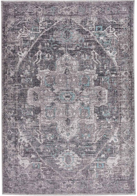 Teppich »Funky Orient Tabriz«, TOM TAILOR, rechteckig, Höhe 5 mm, Kurzflor, Orient-Optik, Vintage Design, Wohnzimmer