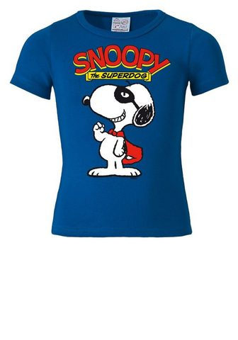 LOGOSHIRT Marškinėliai su puikus Snoopy-Design