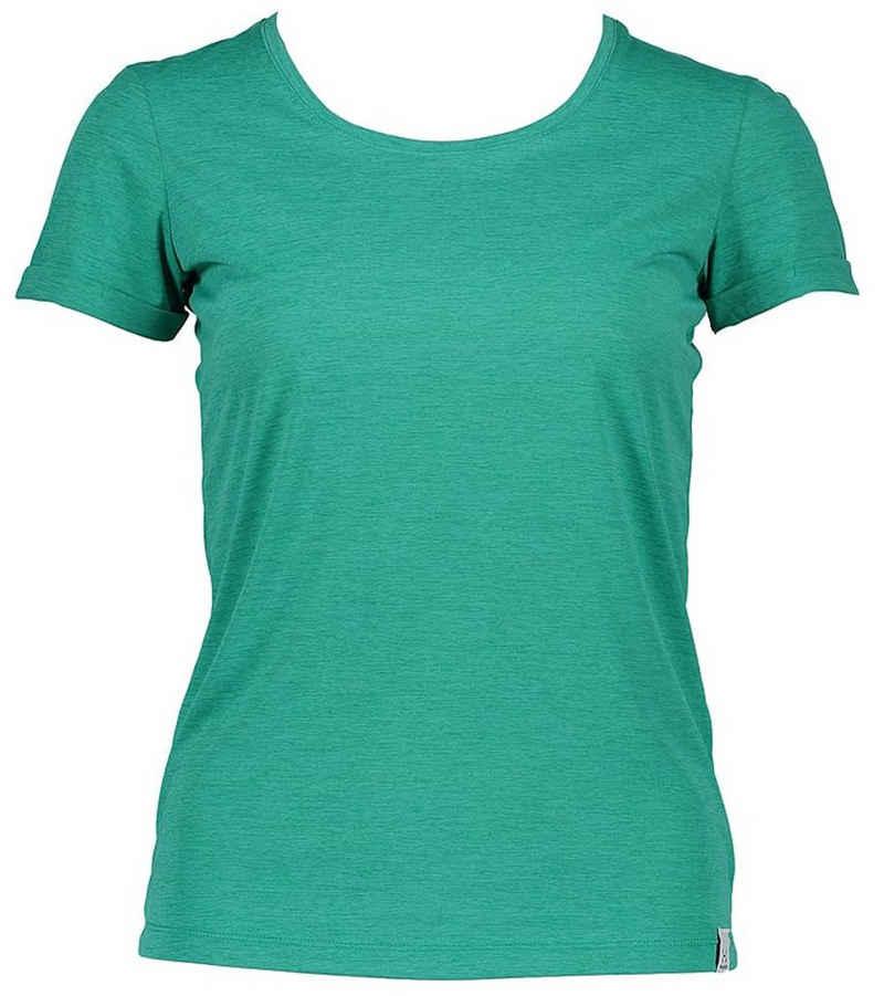 Haglöfs Funktionsshirt »Haglöfs Ridge Hike Tee Sport-Shirt atmungsaktives Damen Funktions-Top Outdoor-Shirt Grün«