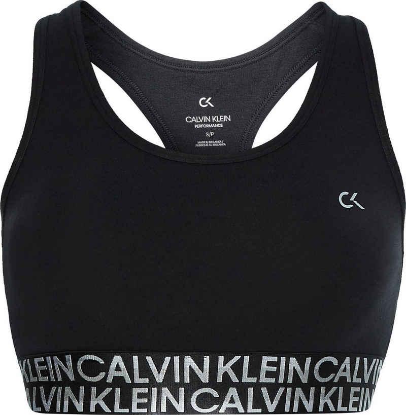 Calvin Klein Performance Sport-Bustier »WO - Low Support Sports Bra« mit Trägern für niedrige Stützkraft