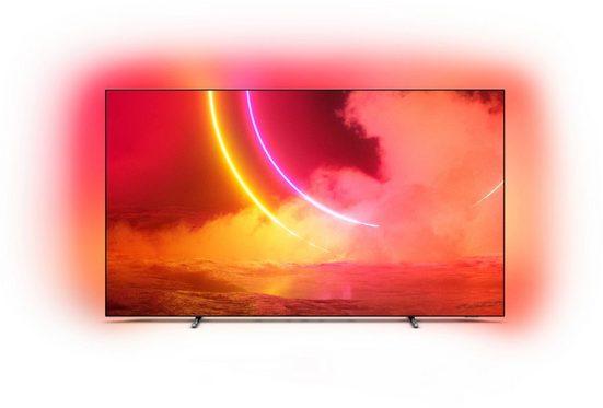 Philips 65OLED805/12 OLED-Fernseher (164 cm/65 Zoll, 4K Ultra HD, Smart-TV)