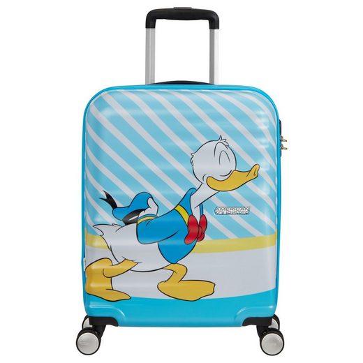 American Tourister® Handgepäck-Trolley »Wavebreaker Disney 4-Rollen-Kabinentrolley S 55 cm«, 4 Rollen Rollen