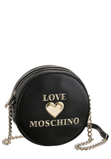LOVE MOSCHINO Mini Bag, in runder Form