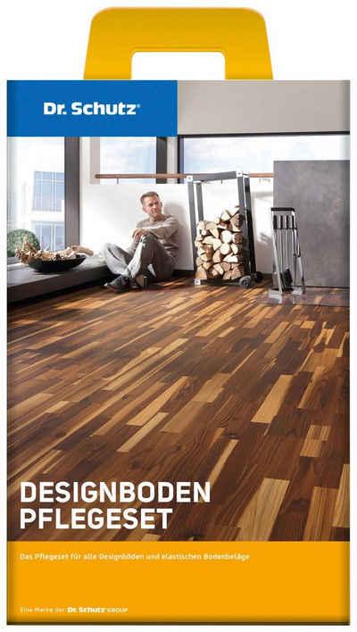 Bodenmeister »Dr. Schutz Designboden Pflegeset« Bodenpflegemittel (Set, 3 St), PU-Reiniger und Vollpflege matt