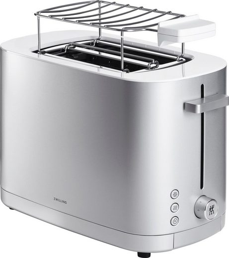 Zwilling Toaster Enfinigy Toaster 2 Schlitze 1000Watt, 2 Schlitzen, 1000 W