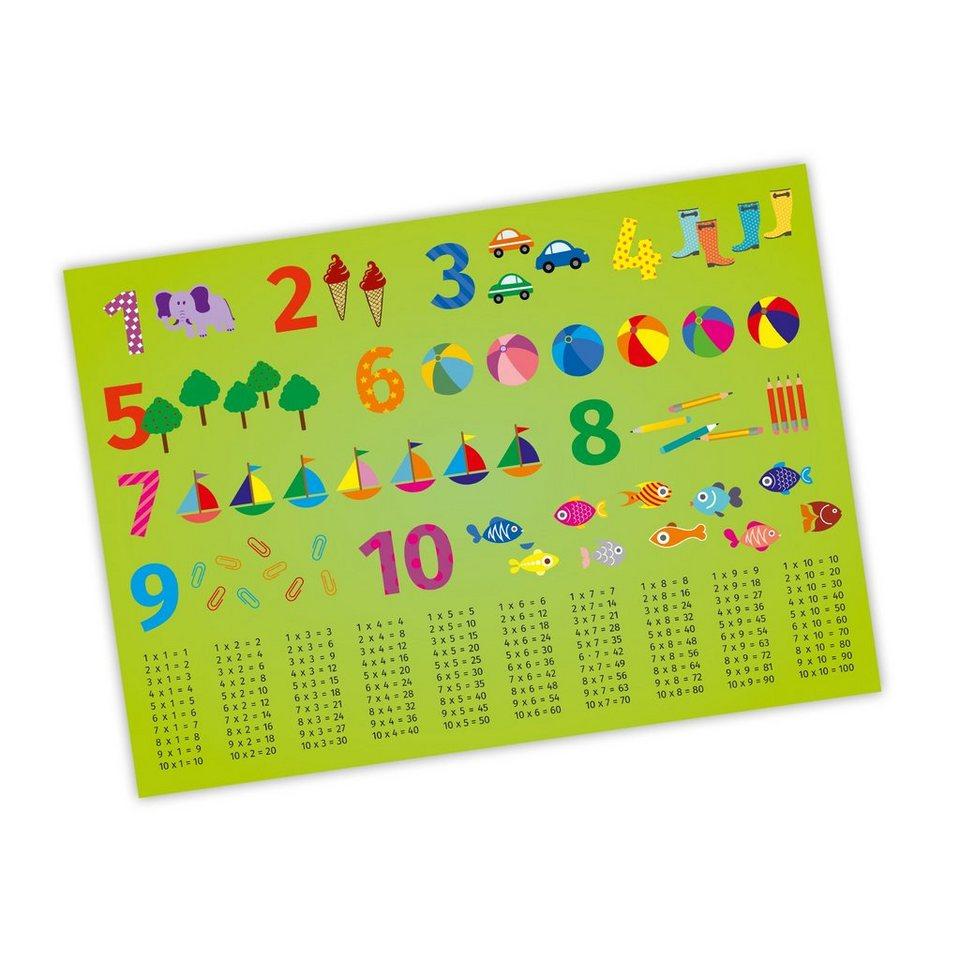 nikima Poster »Zahlen«, Zahlen, Kinder Lernposter   OTTO
