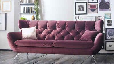 Kasper-Wohndesign Sofa »CHARME«, Stoff versch. Farben