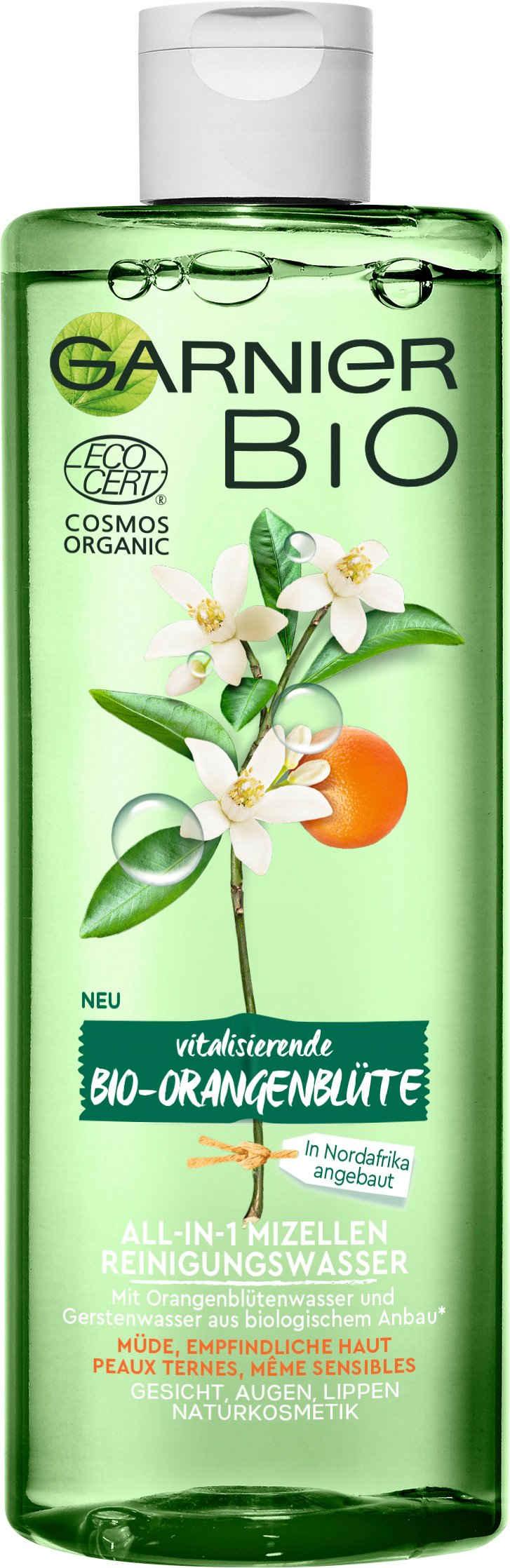 GARNIER Gesichtswasser »Bio Vitalisierende Orangenblüte All-in-1 Mizellen«