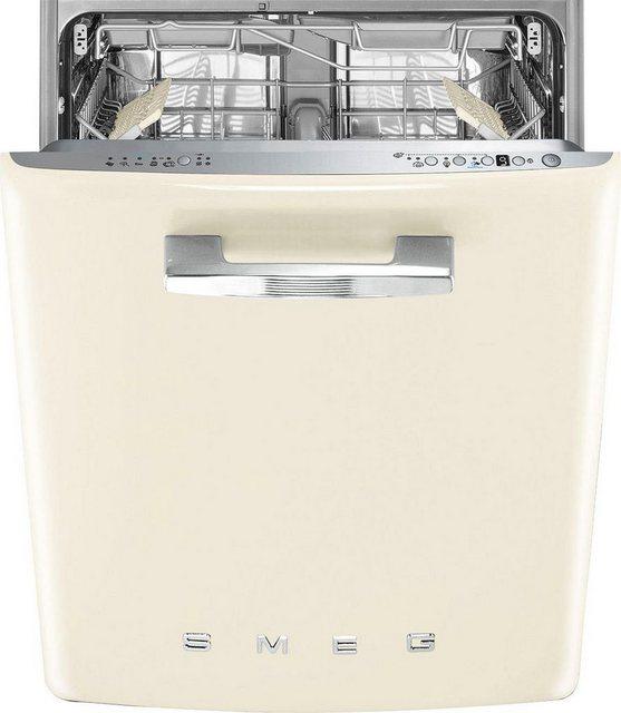 Küchengroßgeräte - Smeg vollintegrierbarer Geschirrspüler, ST2FABCR2, 9 l, 13 Maßgedecke  - Onlineshop OTTO