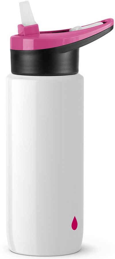 Emsa Trinkflasche »Drink2Go Light Steel«, aus super leichtem Edelstahl, 600 ml