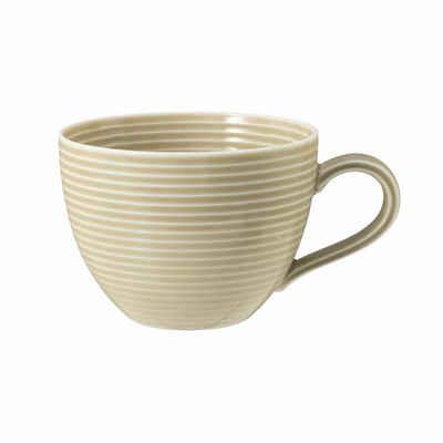 Seltmann Weiden Tasse »Beat Sandbeige 260 ml«, Porzellan