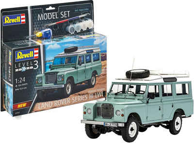 Revell® Modellbausatz »Land Rover Series III«, Maßstab 1:24, Made in Europe