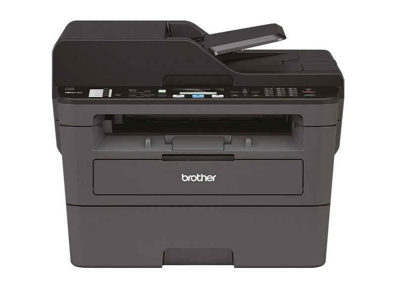 Brother MFC-L2710DW Multifunktionsdrucker, (WLAN, automatischer Duplexdruck)