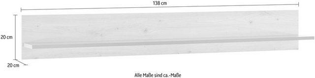 Regale - Wandregal »CLAiR Wandregal 71«, Breite 138 cm  - Onlineshop OTTO