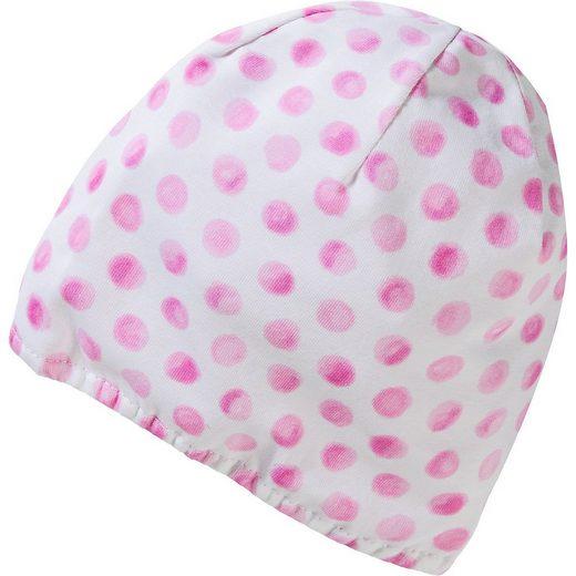 Döll Schirmmütze »Baby Mütze zum Wenden für Mädchen«
