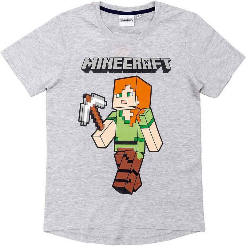 Minecraft T-Shirt »T-Shirt Minecraft dark blue 152cm«