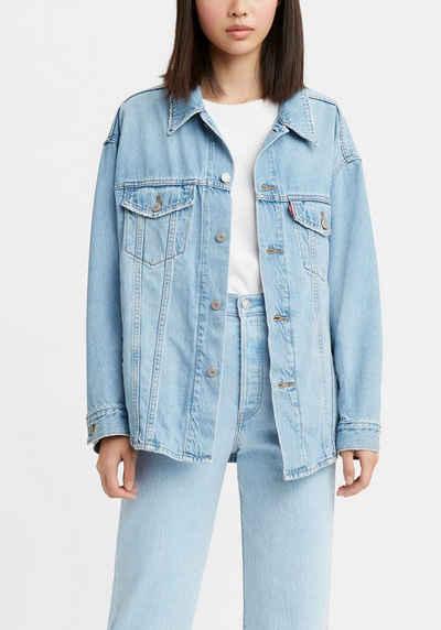 Levi's® Jeansjacke »SHACKET TRUCKER« aus Jeans