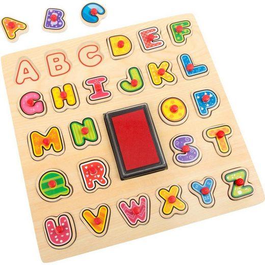 "Small Foot Stempel »Stempel und Puzzle ""ABC""«"