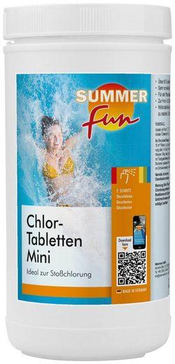 SUMMER FUN Wasserpflege »Chlor-Mini-Tabletten«, 1,2 kg