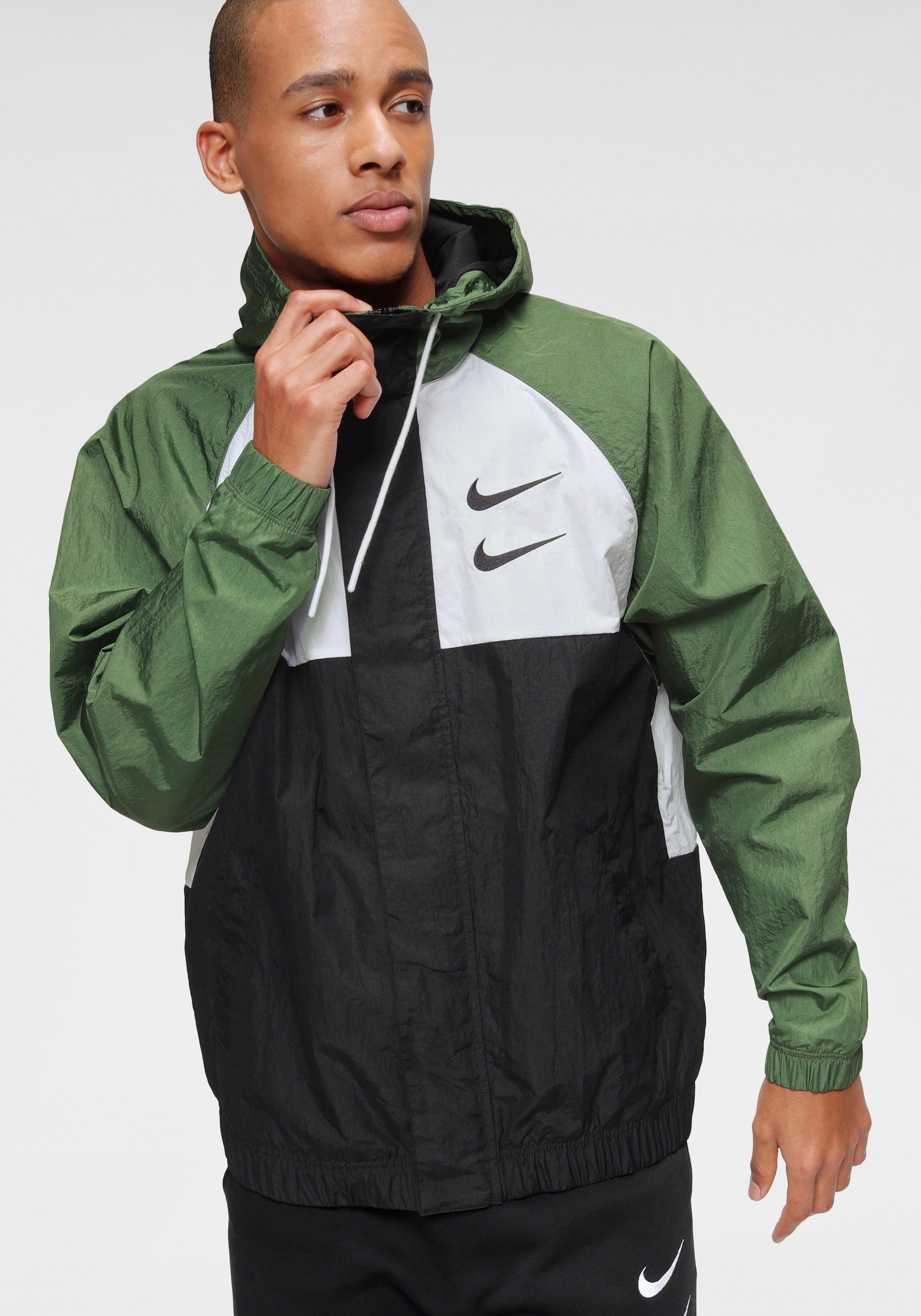Nike Sportswear Funktionsjacke »M Nsw Swoosh Jkt Hd Wvn Men's Woven« online kaufen | OTTO