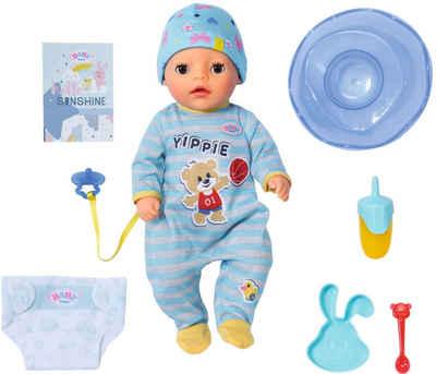 Baby Born Babypuppe »Soft Touch Little Boy, 36 cm«, mit lebensechten Funktionen