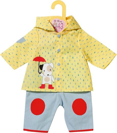 Zapf Creation® Puppenkleidung »Dolly Moda Latzhose mit Regenjacke 43cm«