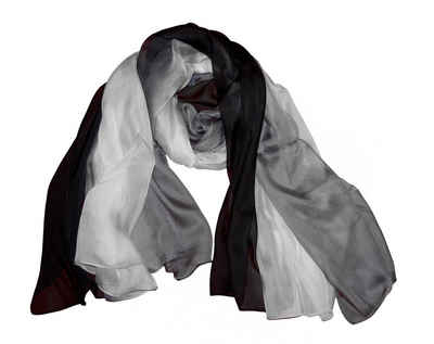 Posh Gear Seidenschal »Seiden Schal Chiffon Tri-Color aus 100% Seide«