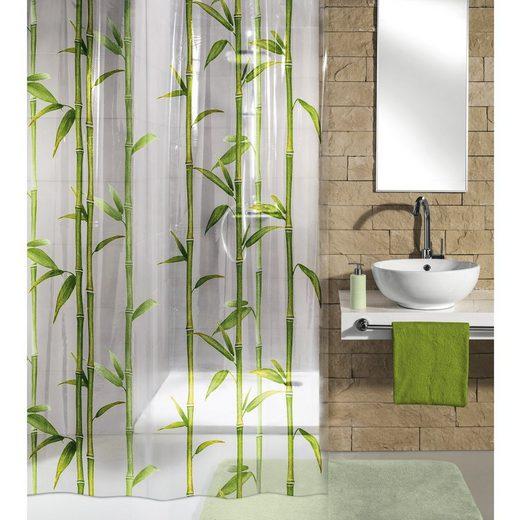 Kleine Wolke Duschvorhang »Bambú« Breite 180.00 cm, Bambú