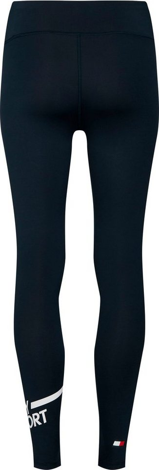 tommy sport -  Leggings »FULL LENGTH LEGGING LOGO« mit  Log-Schriftzug am Beinabshluss