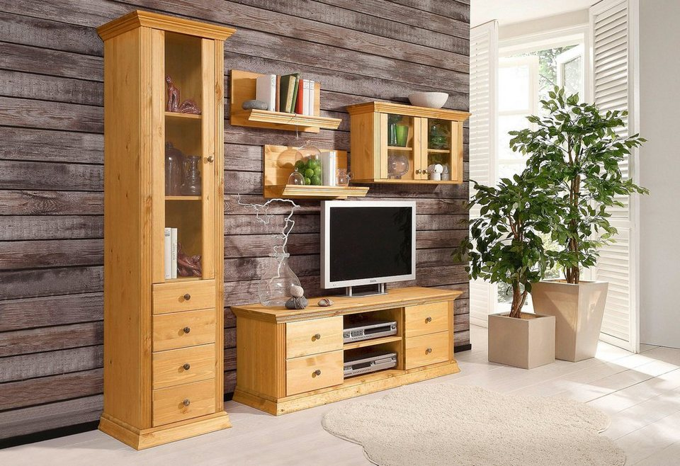 wohnwand 5 tlg home affaire breite ca 190 cm otto. Black Bedroom Furniture Sets. Home Design Ideas