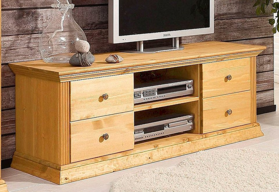 tv lowboard home affaire breite 141 cm belastbarkeit bis 30 kg online kaufen otto. Black Bedroom Furniture Sets. Home Design Ideas