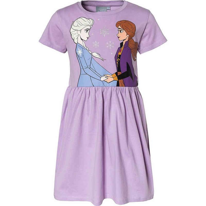 Disney Frozen Jerseykleid »Disney Die Eiskönigin Kinder Jerseykleid«
