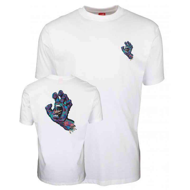Santa Cruz T-Shirt »Growth Hand - white«