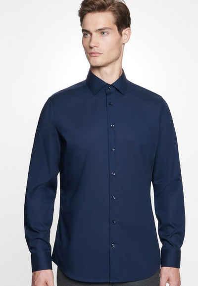 seidensticker Businesshemd »Slim« Slim Langarm Kentkragen Uni