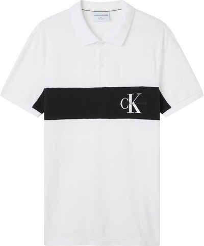 Calvin Klein Jeans Poloshirt »COLOR BLOCK LOGO POLO«
