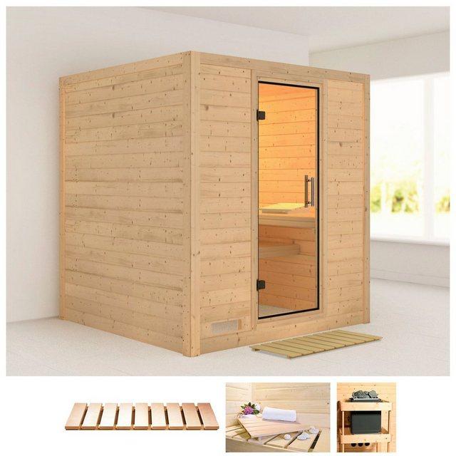 Saunen und Zubehör - KARIBU Sauna »Mojave«, 196x196x200 cm, ohne Ofen  - Onlineshop OTTO