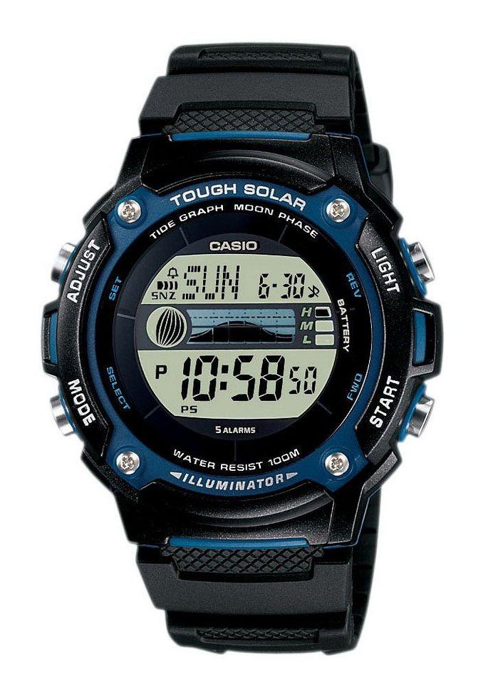 """Casio Collection, Armbanduhr, """"W-S210H-1AVEF"""" in schwarz"""