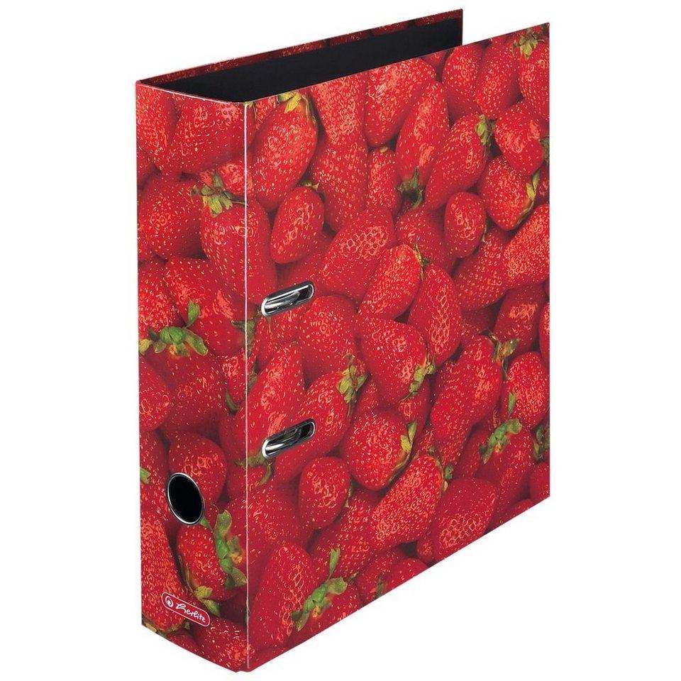 Herlitz Motivordner »Erdbeere«