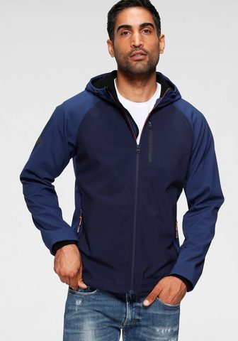 Superdry Softshelljacke »HOODED SOFTSHELL«