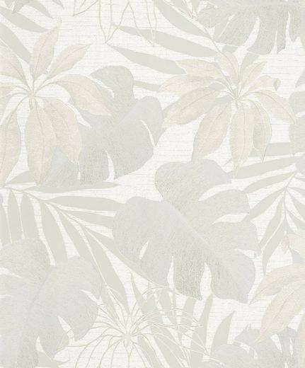 Marburg Vliestapete »hellbeige«, floral, restlos abziehbar