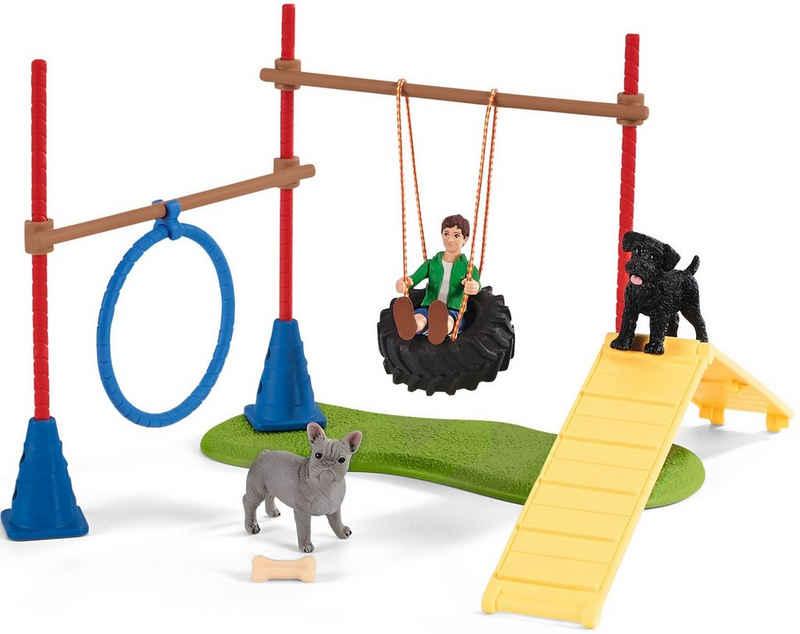Schleich® Spielwelt »Farm World, Spielspaß für Hunde (42536)«
