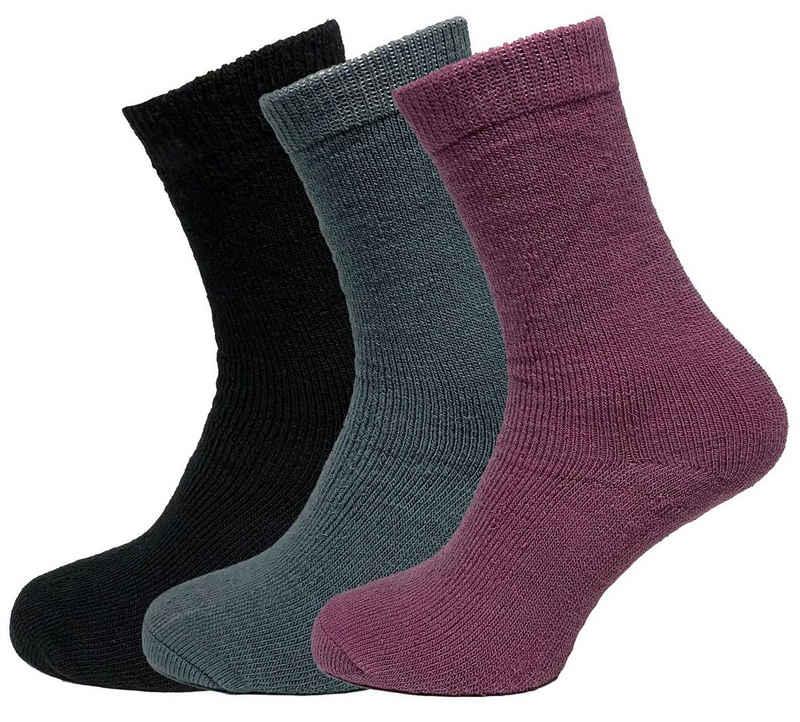 "NEO-24 Thermosocken »3er Pack Damen Thermo Socken ""Skandinavia""« (Spar-Packung, 3-Paar, 3 Paar)"