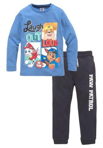 PAW PATROL Marškinėliai ilgomis rankovėmis & keln...