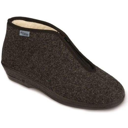 Dr. Orto »Medizinische Schuhe – Pelzstiefel für Damen« Spezialschuh Gesundheitsschuhe, Warme Winterhausschuhe, Präventivschuhe