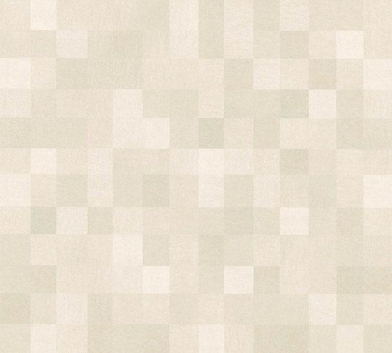 living walls Vliestapete »California«, glatt, glänzend, kariert, uni, matt, geometrisch, (1 St), glatt