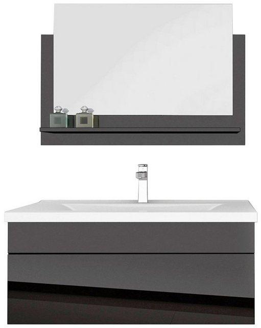 Badezimmer Sets - HOME DELUXE Badmöbel Set »Wangerooge BIG M«, (3 St), mit Push To Open Technik, edle Hochglanzoptik  - Onlineshop OTTO